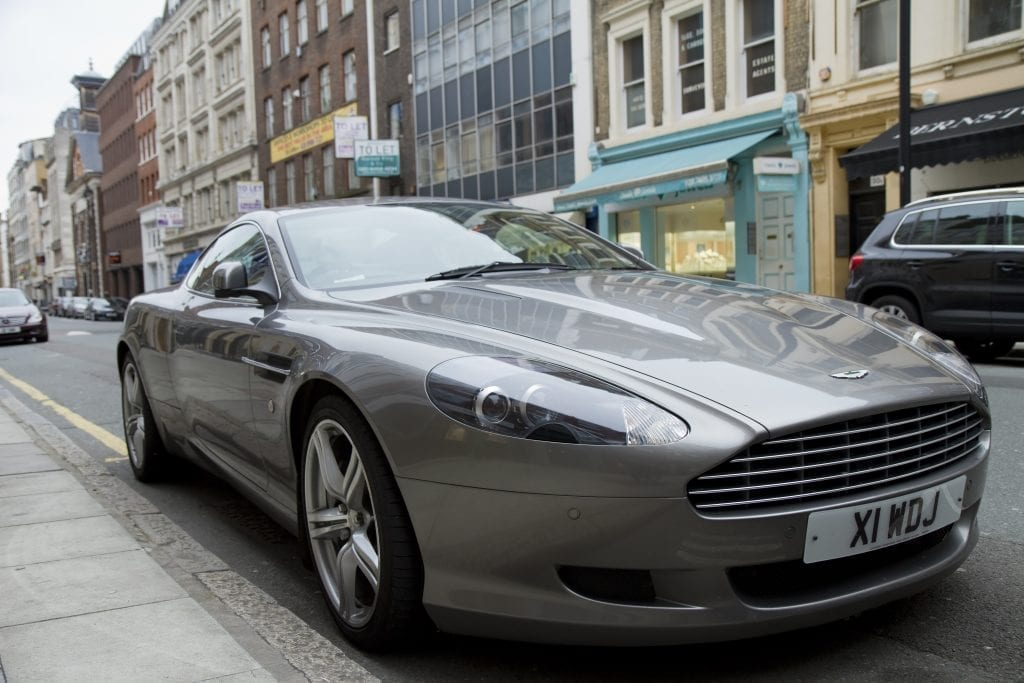 Mayfair Aston Martin