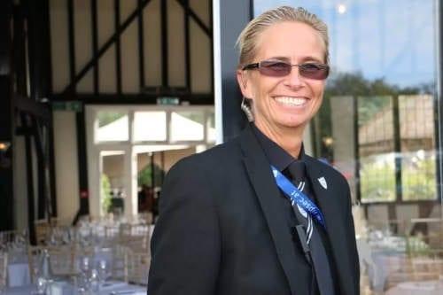 wedding security Julie
